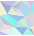 low-polygonal multicolor background vector image