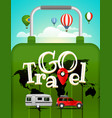 travel vacation travelling concept vector image