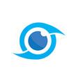 photography eye logo image vector image