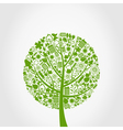 Ecology tree vector image vector image