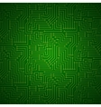 Shining Printed Circuit Board vector image
