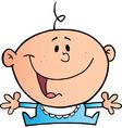 Happy Baby Boy vector image