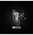 milk glass design background vector image