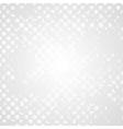 Retro grunge halftone grey design vector image