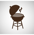 grill barbecue bbq hot vector image
