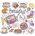 Breakfast Icons Set vector image