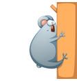 funny cute crazy cartoon characters panda vector image