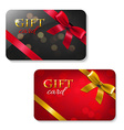 Gift Cards Big Set vector image vector image
