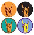 Rock Culture Symbol vector image