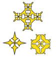 crosses vector image
