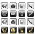 icon app set vector image