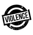 violence rubber stamp vector image vector image