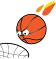 March Madness Basketball vector image