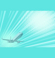 takeoff aviation background flight journey vector image