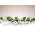 Christmas light abstract background vector image