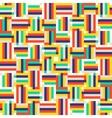 Digital colorful pattern vector image