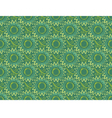 seamless green vertical floral background in retro vector image vector image