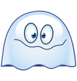 ghost emoticon vector image