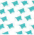 shopping cart symbol vector image