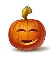 Pumpkins Smiling 3 vector image