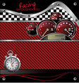 abstract racing carbon fiber background vector image