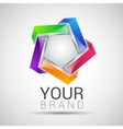 logo design colorful element Abstract vector image