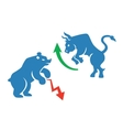 stock market icons vector image