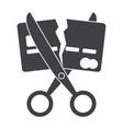 debt free icon vector image