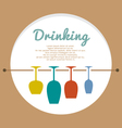 Wine Lover Concept vector image