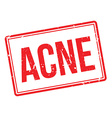 Acne rubber stamp vector image
