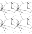 Realistic broken glass seamless pattern vector image