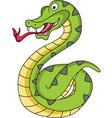 snake cartoon vector image