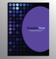 Flyer or brochure template vector image