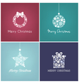 Perfect Christmas design for greetings card vector image
