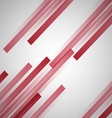 Abstract background with red straight lines vector image vector image