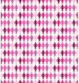 Breast cancer awareness ribbon women seamless vector image vector image