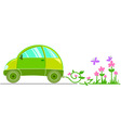 ecological car vector image