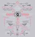 Navajo Aztec Tribal ethnic ornament vector image