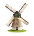 Windmill Painted Color Concept vector image