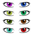 eyes icon vector image vector image