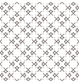 Elegant seamless stylized flower pattern in vector image vector image