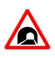Road sign warning vector image vector image