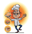 Master Chef Smile vector image vector image