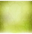 Abstract green vintage background vector image