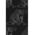 vintage of a koala bear seamless animal pat vector image