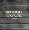 Beach badges logos and labels for any use vector image