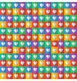 Abstract geometric pattern colorful squares vector image