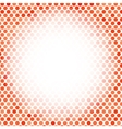 Abstract Red Mosaic Pattern vector image