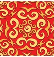 Orient arabesque seamless pattern vector image