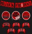 Black Friday Sale Banner Set - Black Friday Sale vector image